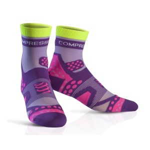 Compressport Ultra Light Running Socks - Purple