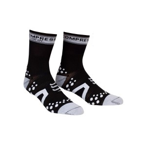 Compressport V2 Cycle Socks - Black/White