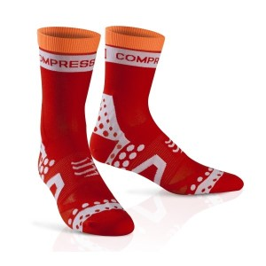 Compressport Ultra Light Cycle Socks - Red