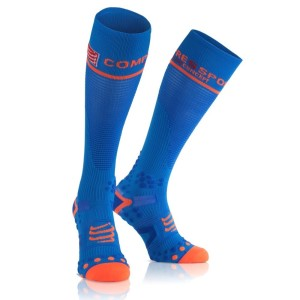 Compressport Full Compression Socks - Blue