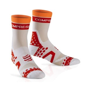 Compressport Ultra Light Cycle Socks - White