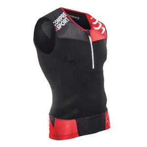 Compressport Compression Unisex Tri Tank - Black
