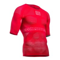 Compressport Compression Unisex Undershirt - Red