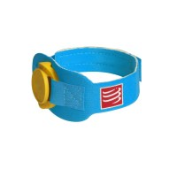 Compressport Timing Chip Band - Aqua