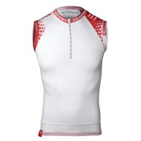 Compressport Compression Trail Running Tank - White